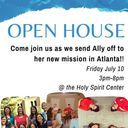 Open House for Ally Wheeler Departure