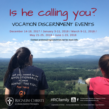 Consecrated Vocation Discernment Event