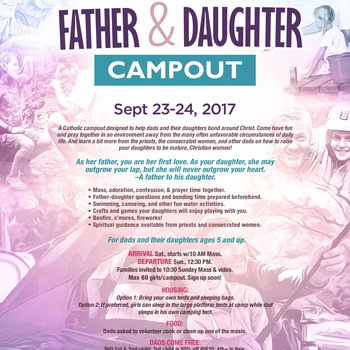 Father & Daughter Campout