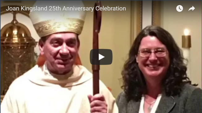 Joan Kingsland Celebration Video