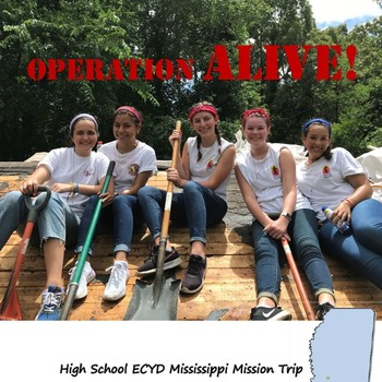 CANCELED DUE TO COVID-19 - High School Mission Trip to Mississippi (originally June 28 - July 3)