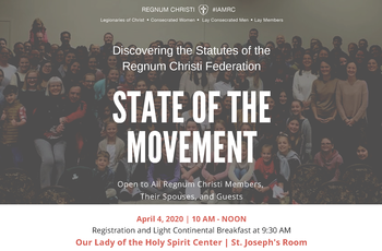 "BEING SCHEDULED: Open Day of Formation - ""State of the Movement"""
