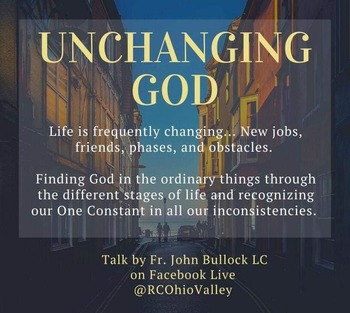 "Young Adult Retreat - ""Unchanging God"""