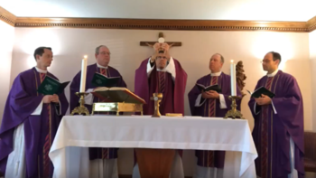 ONLINE Holy Week Liturgies with our Local Legionaries of Christ