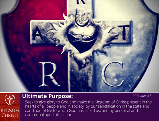 Ultimate Purpose of Regnum Christi Federation