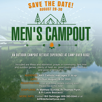 Men's Outdoor Retreat @ Camp River Ridge