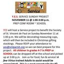 Y.E.S. SERVICE SUNDAY PROJECT