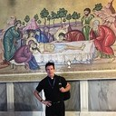 St. Mary of the Lakes in the Holy Land - Fr. Dan at the Church of the Holy Sepulchre