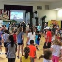 Vacation Bible School Is Full and in Full Swing
