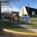 Rosary Walk for Life at the Church