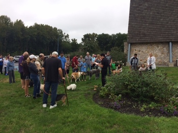 Pet Blessing Held Saturday