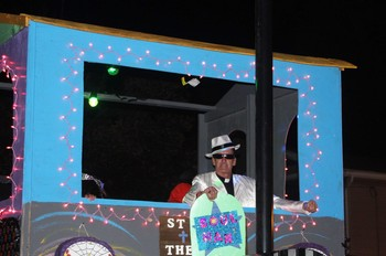 The Soul Train Arrived at Halloween Parade Sunday