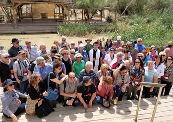 St. Mary of the Lakes in the Holy Land - At the Jordan River where Jesus was baptized