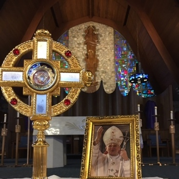 Relic of St. John Paul II