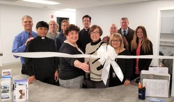 New Parish Office Opened Monday
