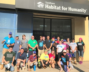 YES Habitat for Humanity Trip