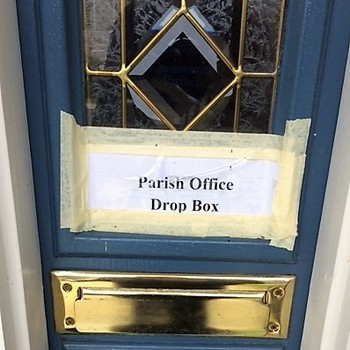 Parish Office Drop Box