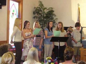 L-Youth Choir Practice