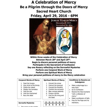 A Celebration of Mercy