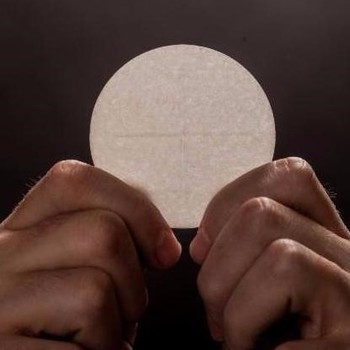 """The Eucharist: Receive, Become, Live!"""