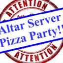 Altar Server Pizza Party - September 16th at 5pm