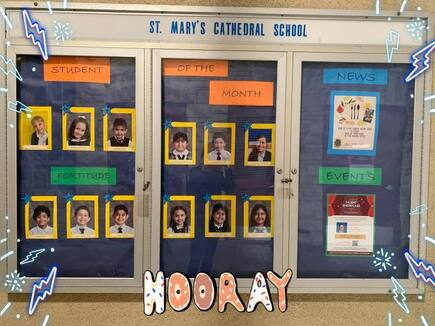 Students of the Month - November - FORTITUDE