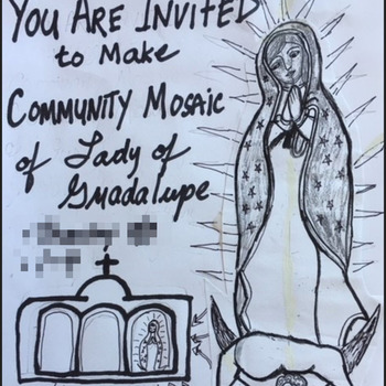 Create a Community Mosaic of OLO Guadalupe at the Friary