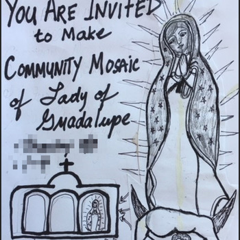 Create a Community Mosaic of OLO Guadalupe at San Juan Diego Friary