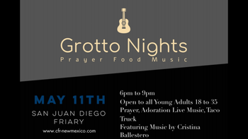 Grotto Nights Young Adults Ministry (age 18-35)