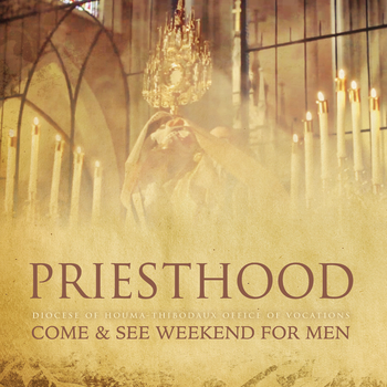 Diocesan Come & See Weekend for Men