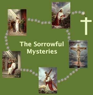 """COME JOURNEY WITH ME IN MY CONTEMPLATIVE INNER HEALING ROSARY/SORROWFUL MYSTERIES"""