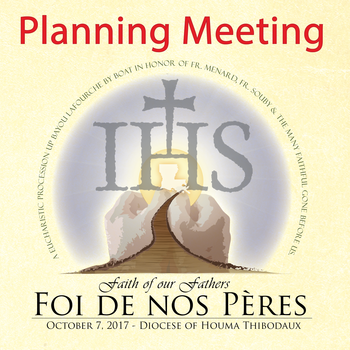 Eucharistic Procession Planning Meeting