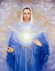 """LIVING LIFE IN THE SPIRIT THROUGH THE HEART OF MARY"""