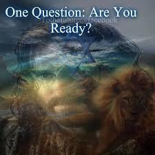 "TEACHING: ""ARE YOU READY?"""