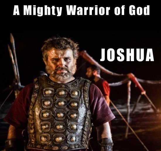 Mighty Warriors In The Bible: THE BOOK OF JOSHUA The Bible Project Video, Printer