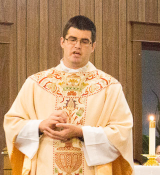 Welcome Father Geoffrey Brooke