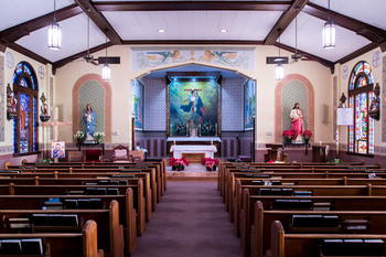 Masses resume at Saint Mary
