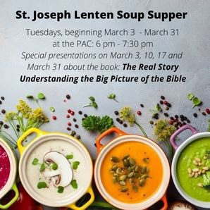 Lenten Soup Suppers - Tuesdays in March
