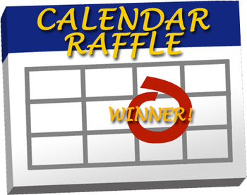 Image result for calendar raffle