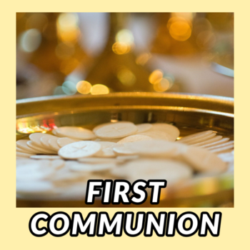 FIRST RECONCILIATION/FIRST COMMUNION CAREGIVER MEETING