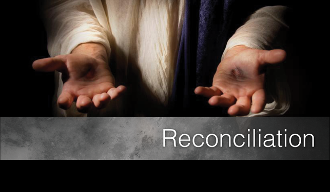 reconciliation inside a family Another huge factor in reconciliation is the inclusion—or, intrusion—of other friends and family members additional people can provide strength, encouragement, and wisdom they can also provide more opportunities for argument, miscommunication, and flawed strategies.