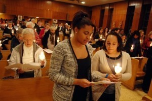 Candlelight Vigil for Human Trafficking