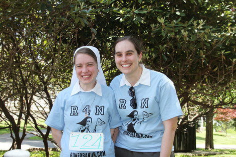 Sr. Bridget Harakal and Postulant Amanda Bathalon