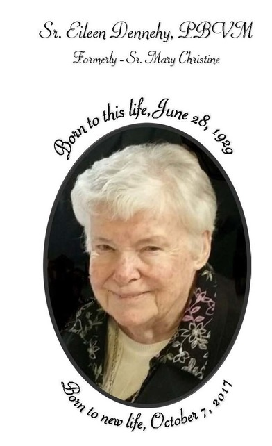 Sr  Eileen Dennehy - Sisters of the Presentation of the