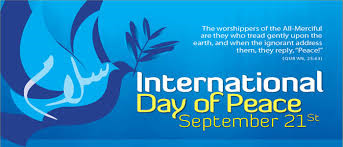 International World Day of Peace