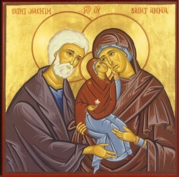 Feast Day of St Joachim and St Anna