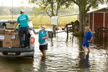 Donate Now to Help Flood Victims in Louisiana