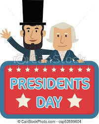 No Religious Ed Classes this weekend in observance of Presidents' Day holiday