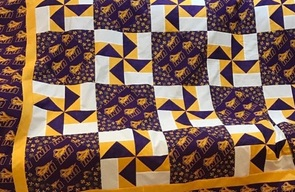 Parish Festival Live Auction Quilts in Progress