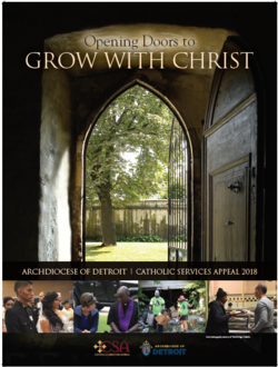 CSA 2018 Opening Doors to Grow with Christ